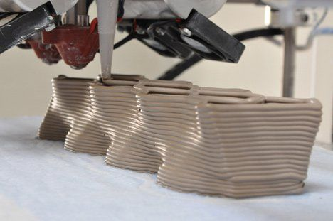 Building Bytes 3D printed bricks by Brian Peters   ceramics