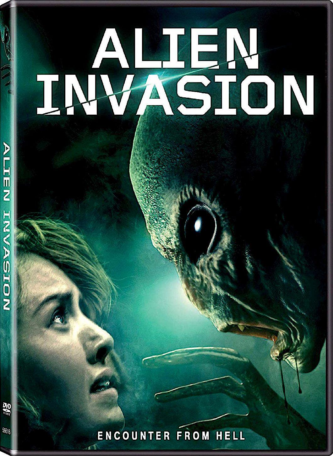 New Sci Fi Dvd Movie Releases: ALIEN INVASION DVD (LIONSGATE)