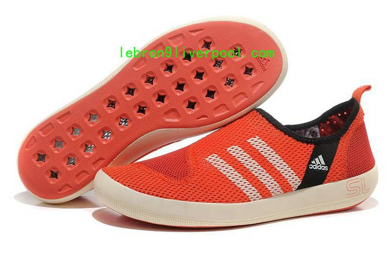 Adidas Outdoor Climacool Boat Cym Red/Black/White   Adidas, Unisex ...