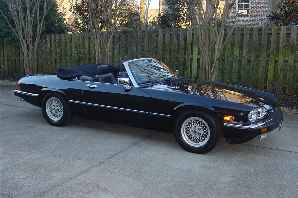 1991 Jaguar Xjs V12 Convertible Barrett Jackson Auction Company World S Greatest Collector Car Auctions