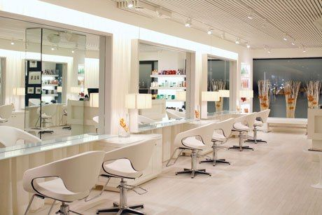 Warren Tricomi Salon | New York City | Recreate this look with The Margaux Styling Chair in white http://stand.sh/margauxwhite