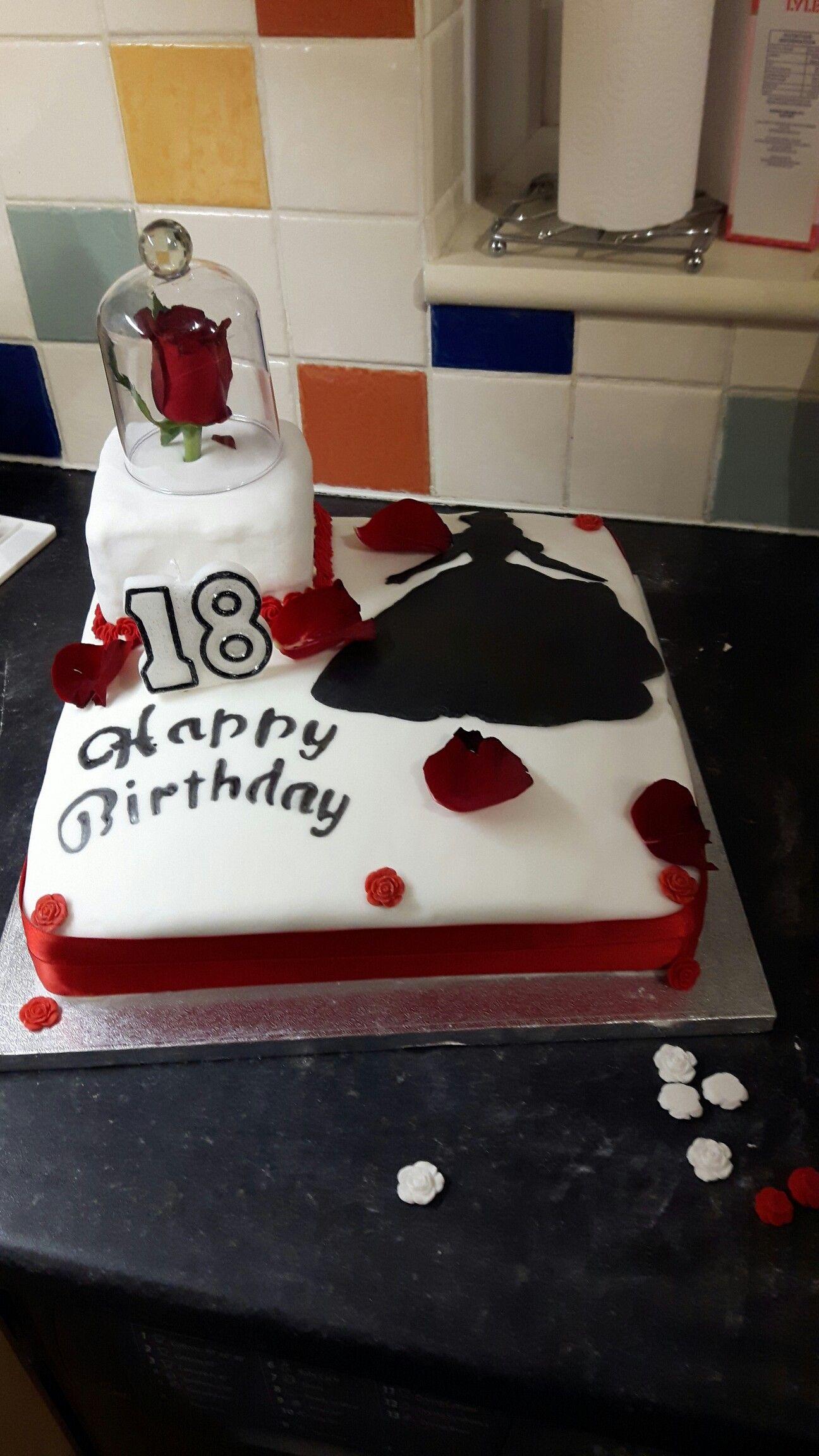 Belle birthday cake My Cakes Pinterest Birthday cakes and Cake