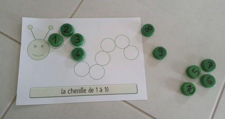 La chenille des bouchons | Fichas, Dibujos y Letras