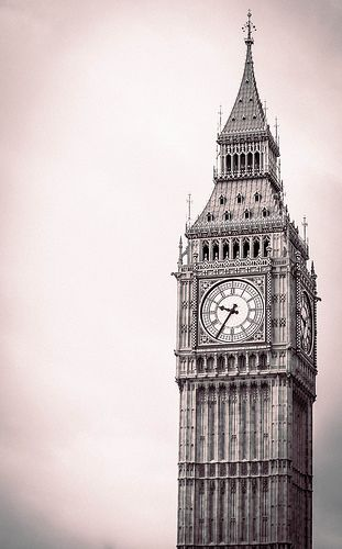 Pochette En Coton Pour Hommes Carré - London Big Ben Par Vida Vida g0YTd