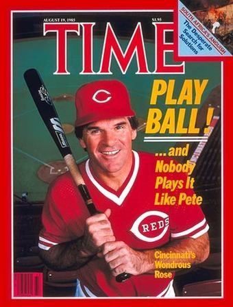 Maybe The Best To Ever Play The Game Should Be In The Hall Of Fame Pete Rose Cincinnati Reds Baseball Cincinnati Reds