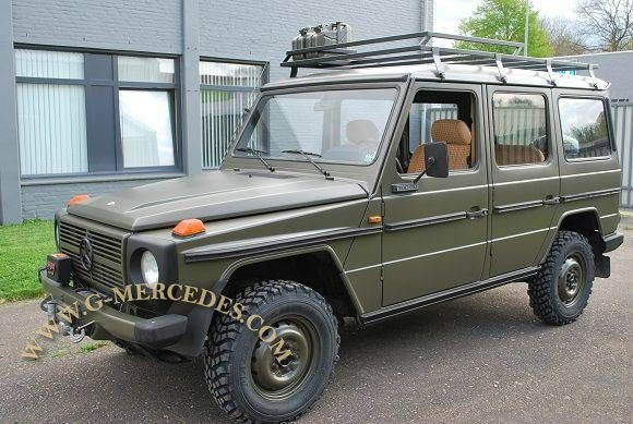 Used Cars For Sale Germany Military: 1982 Mercedes-Benz G-Class 300GD Military 4- Door G-Wagon