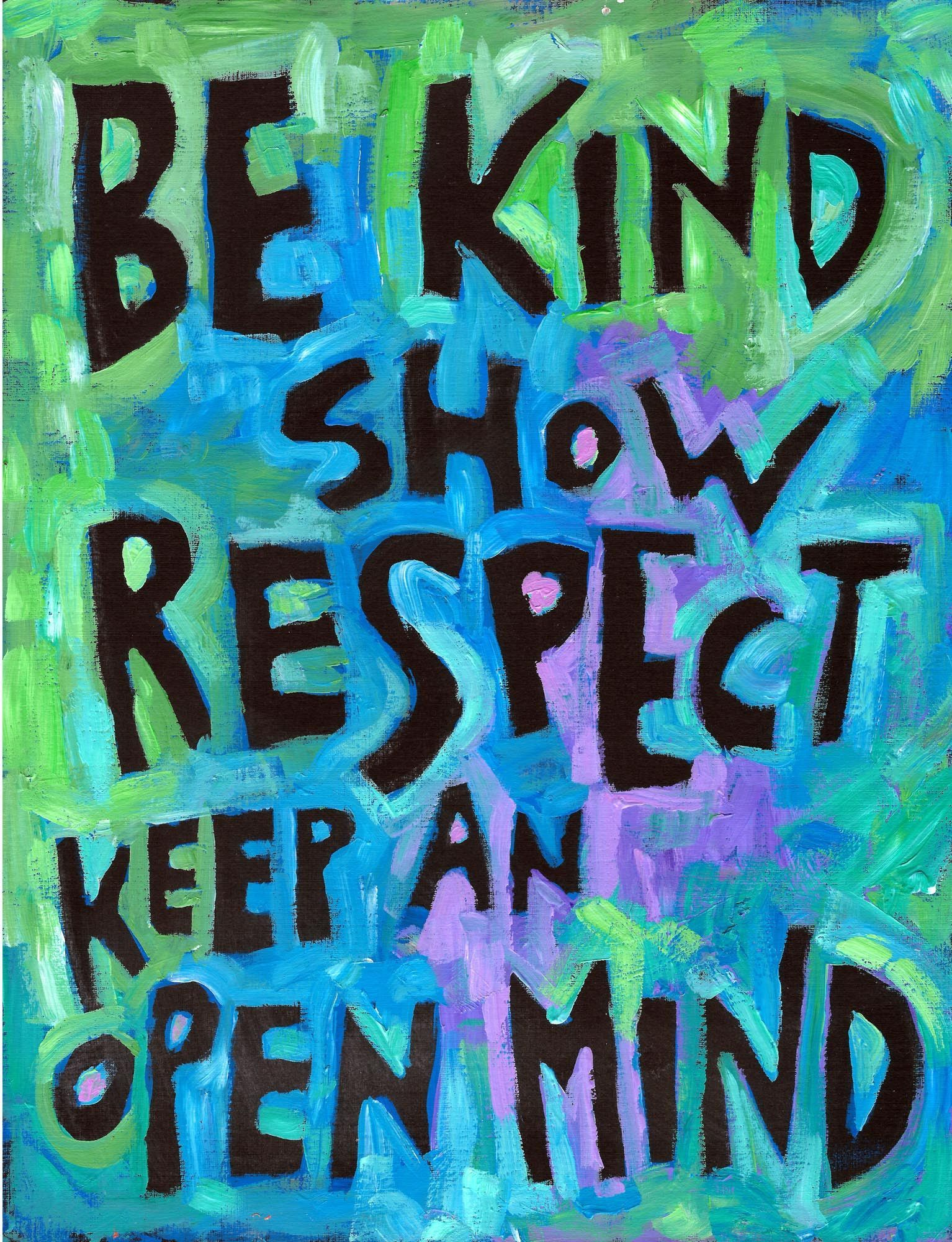 We Now Offer 3 Sizes Standard 11 X 14 Large 16 X 21 Extra Large 23 X 30 Sorry Not All Image Kindness Quotes Respect Quotes Teacher Inspiration