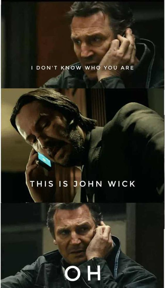 30 Extremely Sarcastic And Funny John Wick Memes Lively Pals John Wick Meme Funny Memes Funny Photos