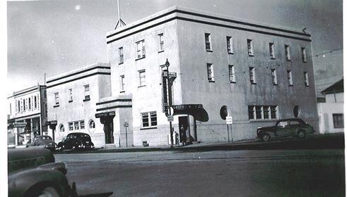 The Royal Hotel In Ponoka Alberta C 1945 One Of