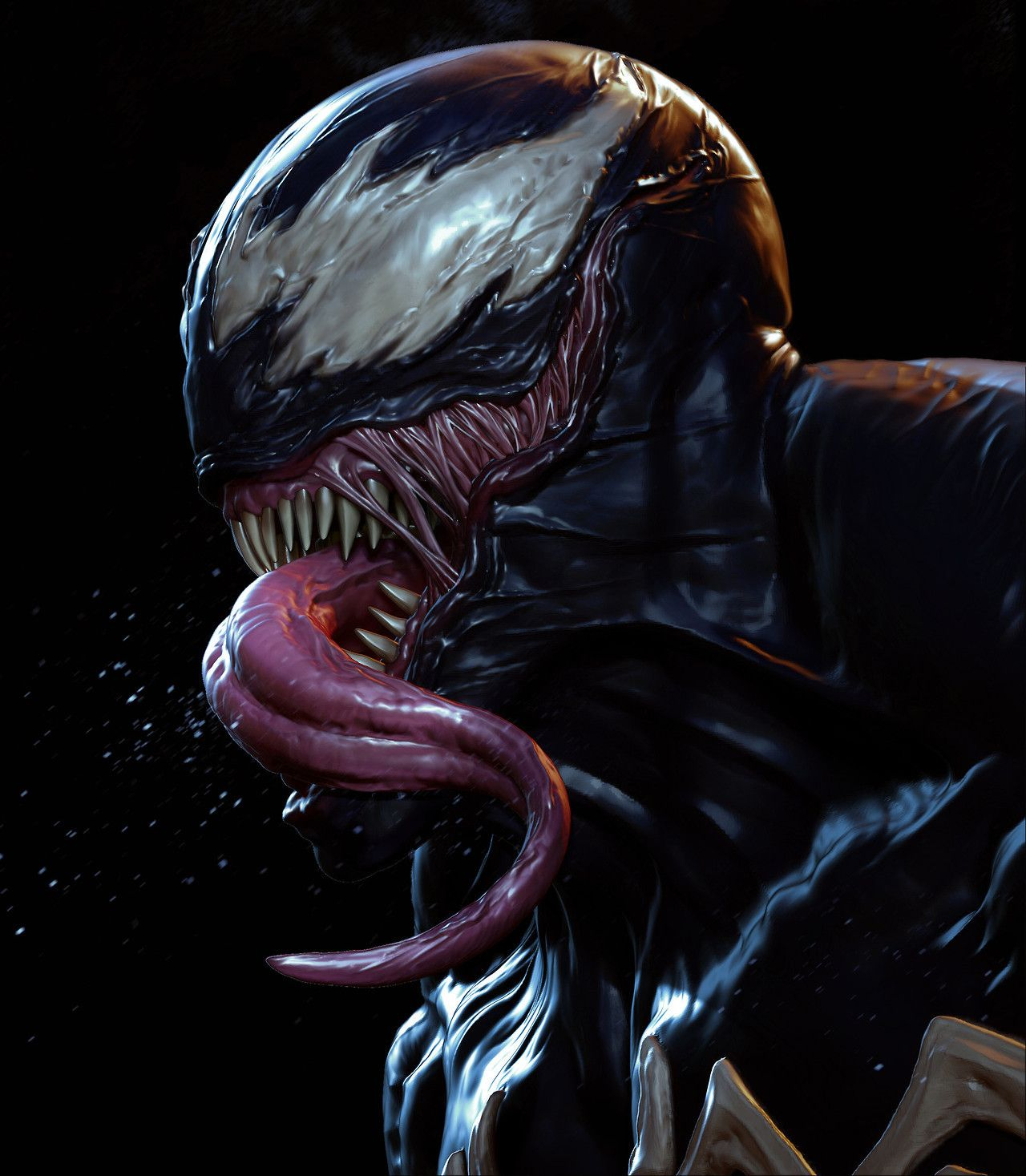 Venom by Andy Chin  Venom  Venom Venom comics Marvel venom