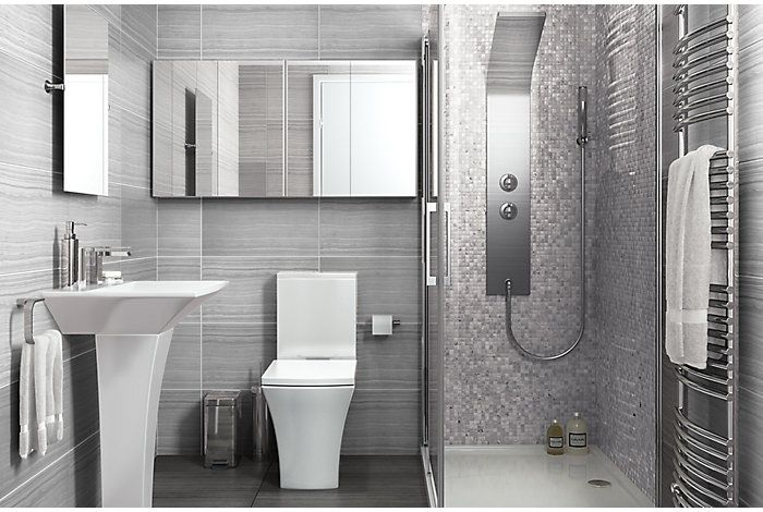 Bathroom Suite Ideas   Bu0026Q Carapelle Bathroom   Which?