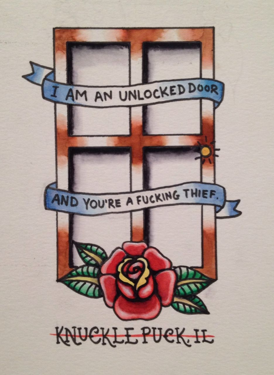 Knuckle Puck But Why Would You Care Inspirational Tattoos Music Tattoos Punk Tattoo