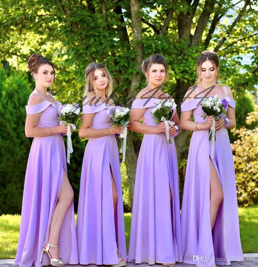 Pin By Jamie Karakadze On Wedding Ideas Light Purple Bridesmaid