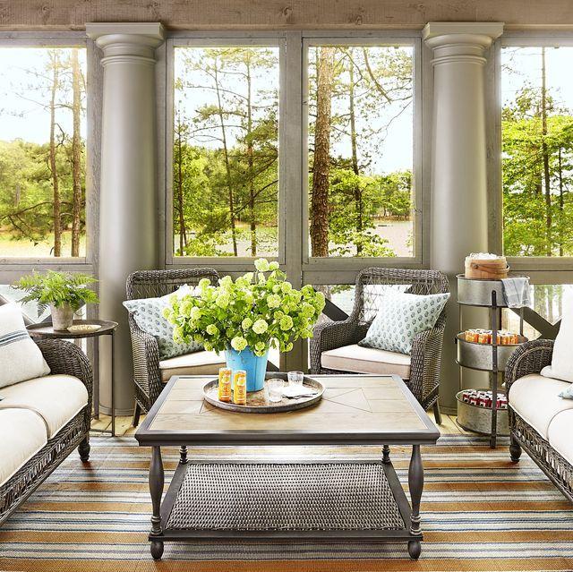 Interior Sunroom Addition Ideas: Sunroom Decorating, Small