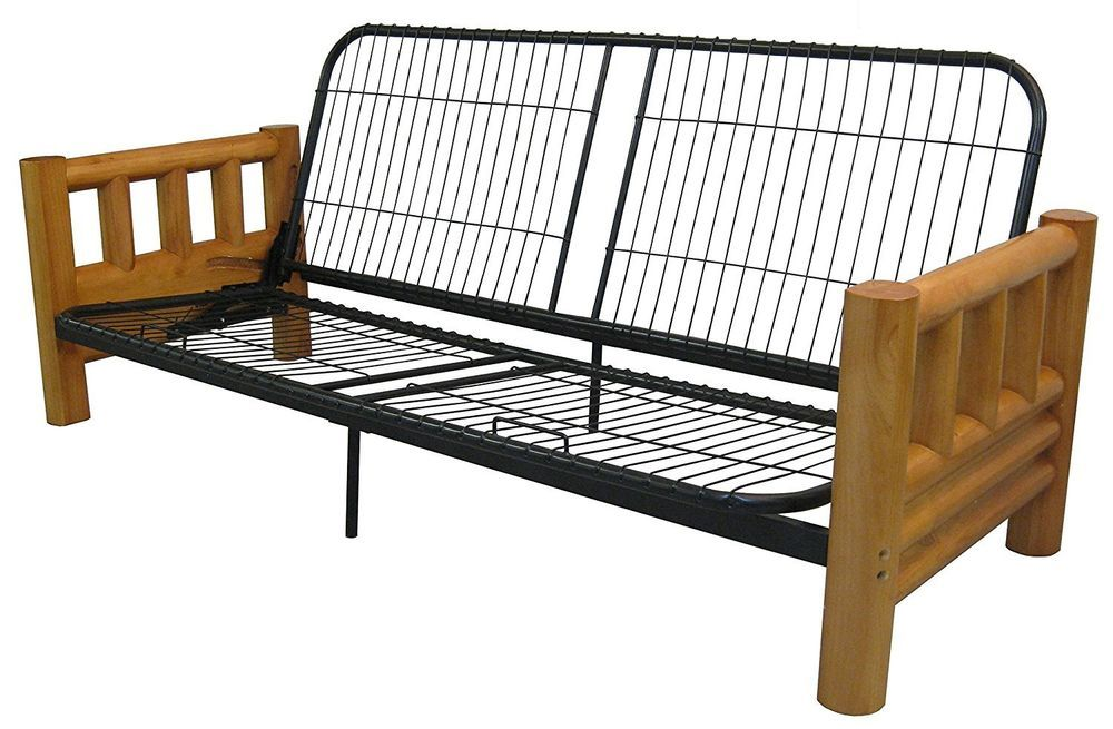 Futon Frame Rocky Mountain Cedar Log Furniture Lodge Style Solid ...