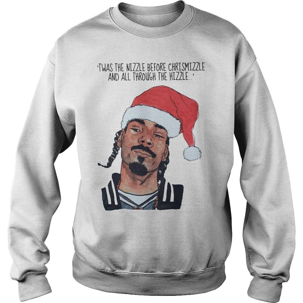 47f10be6 Twas The Nizzle Before Christmizzle White S-5XL Cotton Pullover Sweatshirt  #fashion #clothing #shoes #accessories #unisexclothingshoesaccs ...