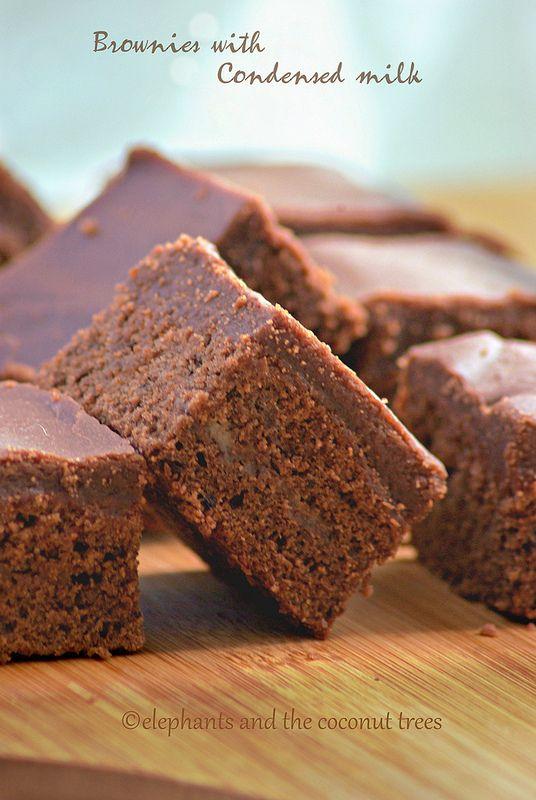 Brownies With Condensed Milk Milk Recipes Dessert Coconut Milk Recipes Condensed Milk Recipes