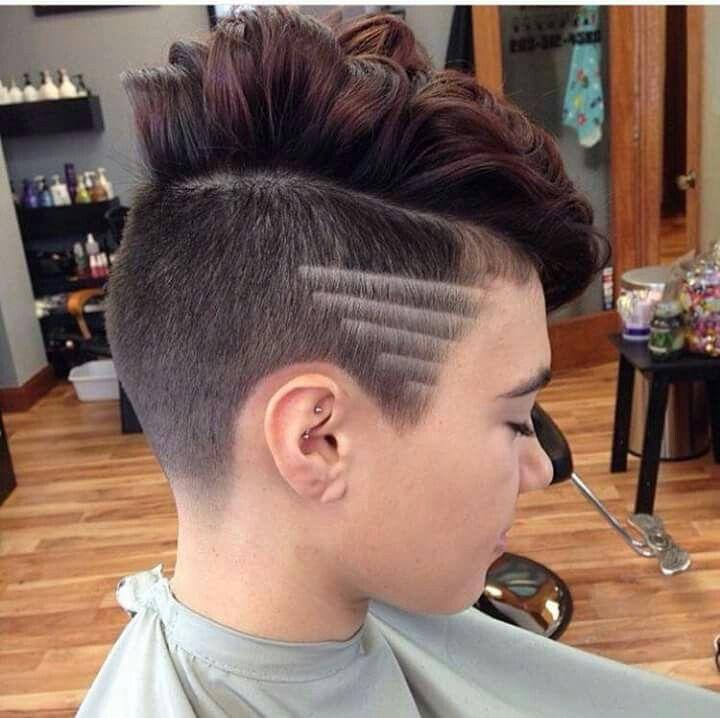 Nacken Muster Frisuren Modische Frisuren Jungs Frisuren