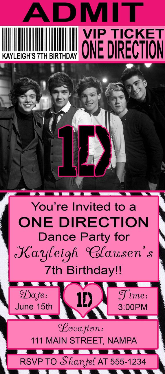 17 Best images about One Direction Birthday Party – One Direction Birthday Greeting