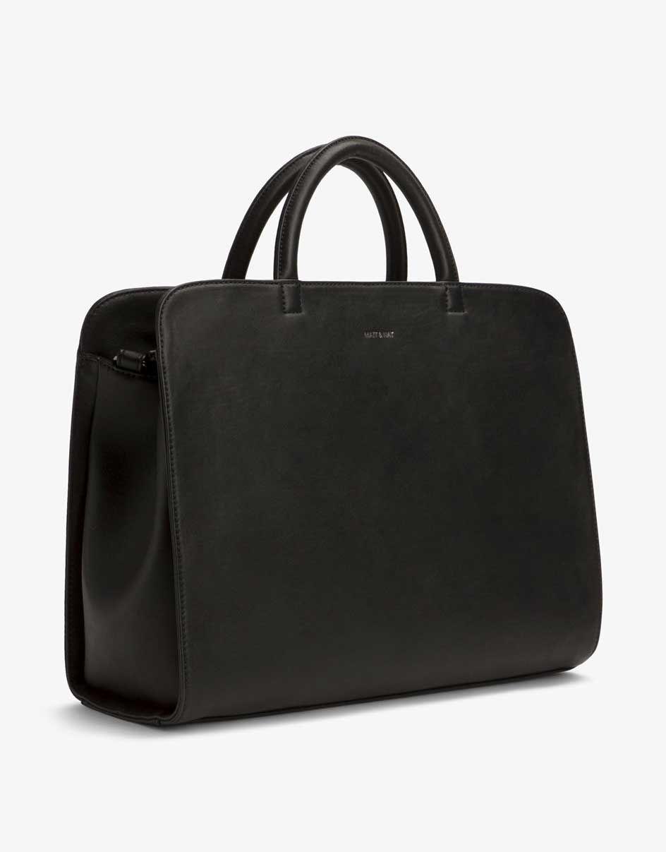 1294c802510c2 Die vegane Tasche Tia von Matt   Nat kommt im Stil einer Aktentasche daher.  Dabei