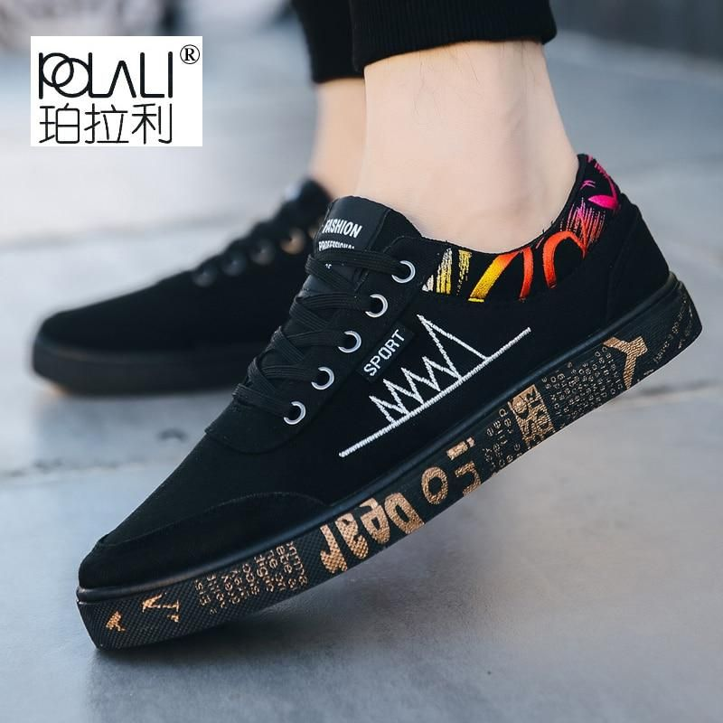 Autumn Fashion Flat Denim Canvas Shoes