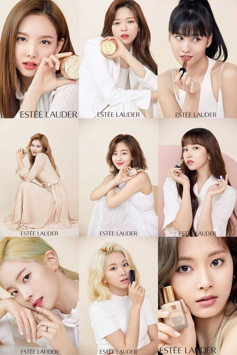 Twice For Estee Lauder Kpop Girl Groups Twice Kpop Girls