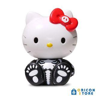 Balzac X Hello Kitty Skull Toy