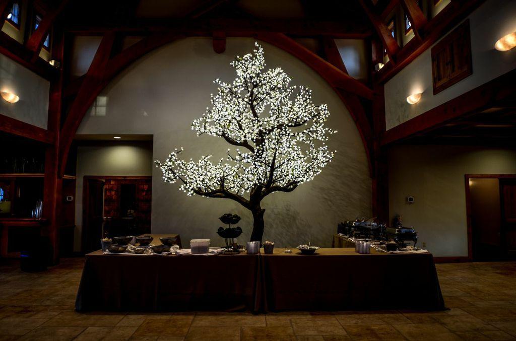 Beautiful tree from Whim! | Lighting | Pinterest | Weddings ...