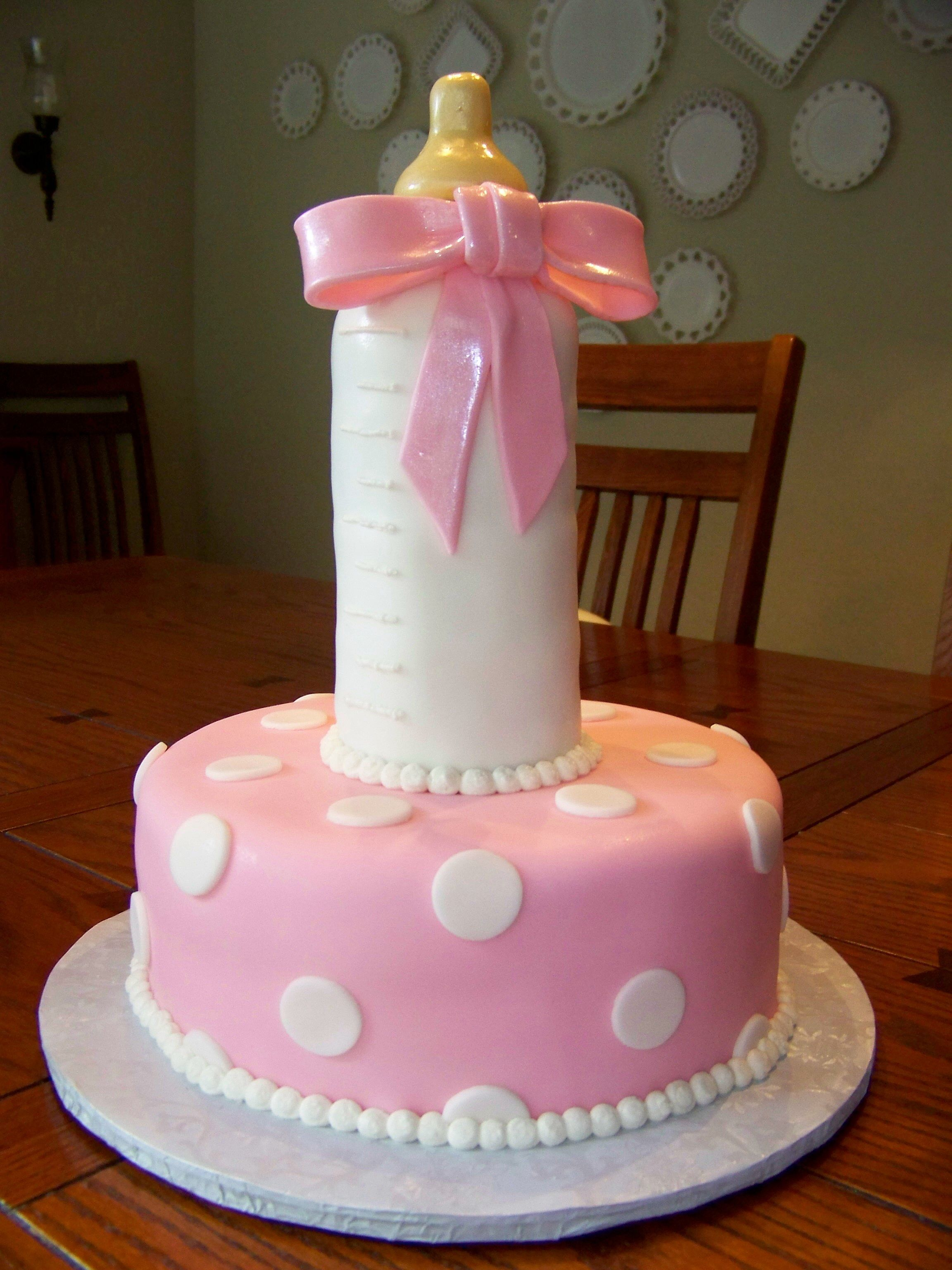Baby Bottle Cake Images : Baby bottle cake! Love this one. #customcakes # ...