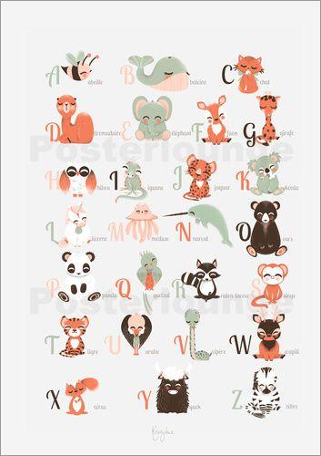 Poster hagebutten verbrugge watercolor ideen f rs kinderzimmer pinterest kinder zimmer - Kinderzimmer franzosisch ...