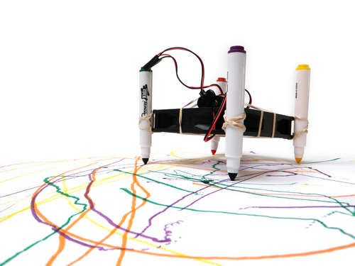 Easy Squiggle Bot | Easy and Craft
