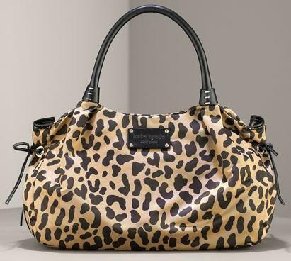 Super cute Kate Spade Animal Print Shoulder bag - Socialbliss ... f1f89c425b