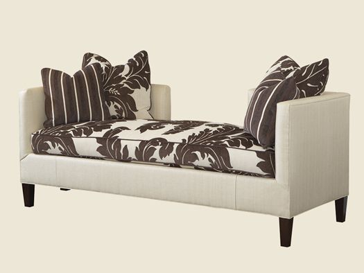 Lexington Upholstery Sebastian Two Sided Settee By Lexington Home Brands    Sprintz Furniture   Bench Nashville, Franklin, Brentwood And Greater  Tennessee