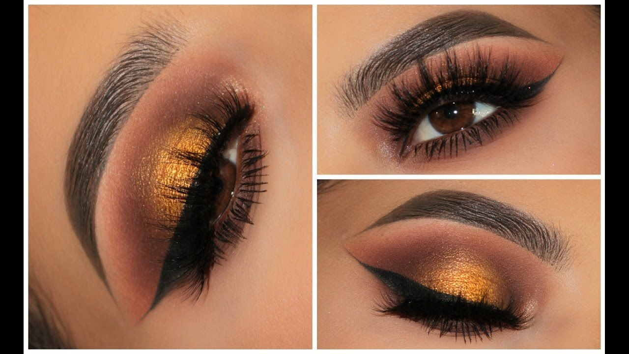 All About Fall Smokey Eye Full Face Makeup Look Fall