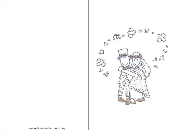 Biglietti Di Auguri Matrimonio : Biglietti di auguri per matrimonio da stampare gratis
