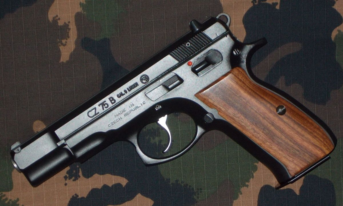 Schizuki sent us this photo of his CZ 75 B chambered in 9mm Luger