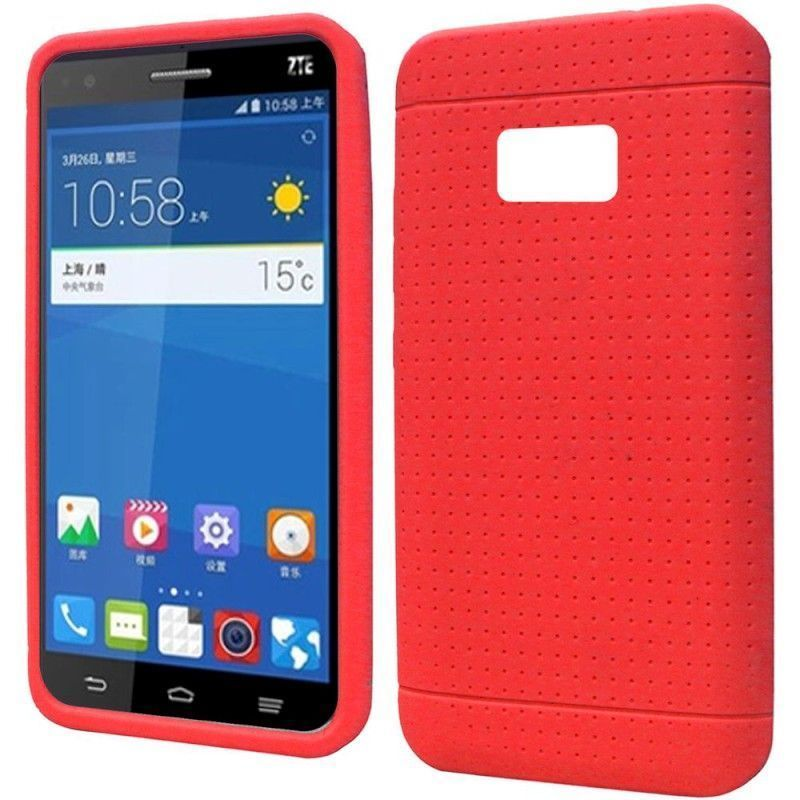 Insten Rugged Soft Soft Silicone Skin Rubber Phone Case Cover For ZTE Paragon/ Zephyr #2117682