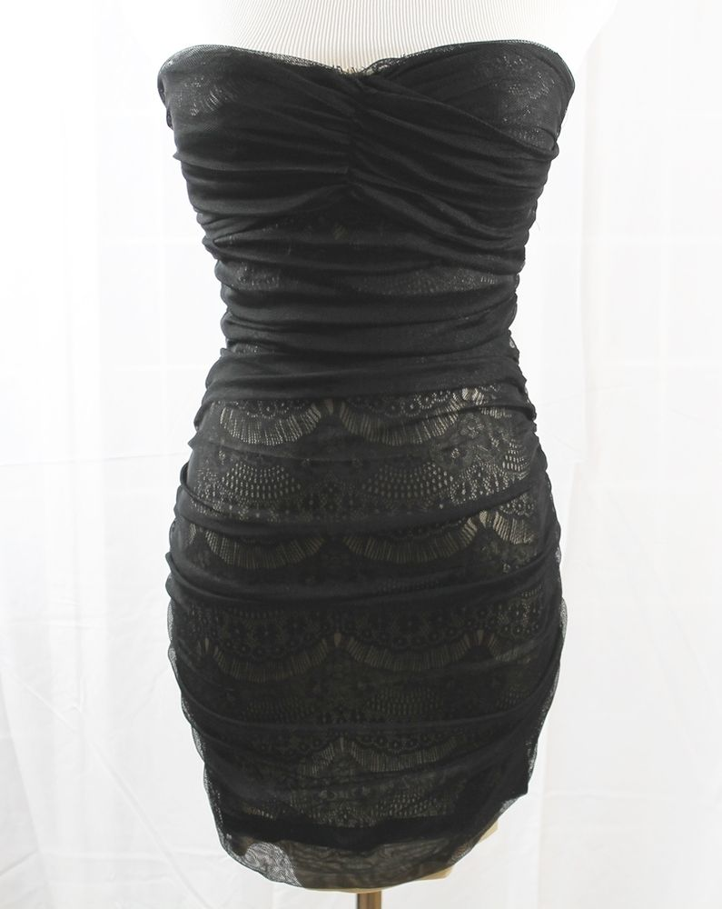 Black mesh dress with nude lining featured items pinterest