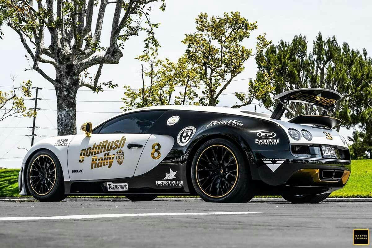 GoldRush Rally 7 Bugatti Veyron SS U201cPandau201d