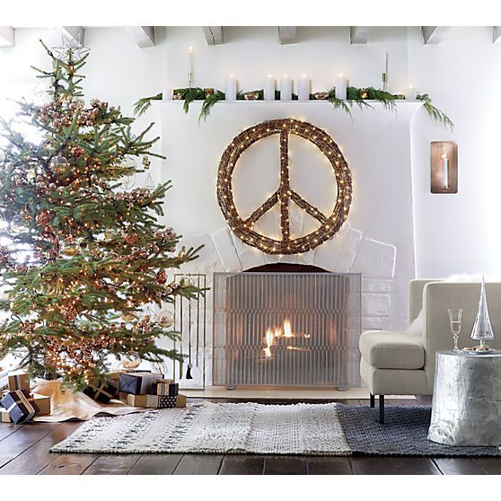 cb2 inner peace wreath holiday twig wreath wreaths. Black Bedroom Furniture Sets. Home Design Ideas