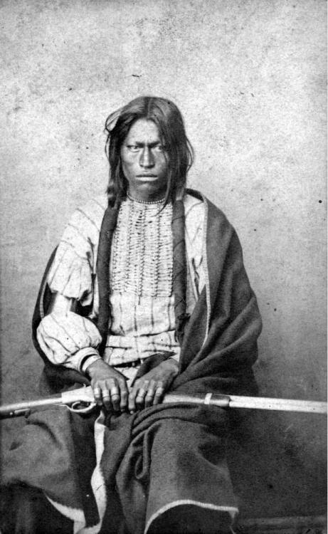Running Bear- Sioux chief, 1860