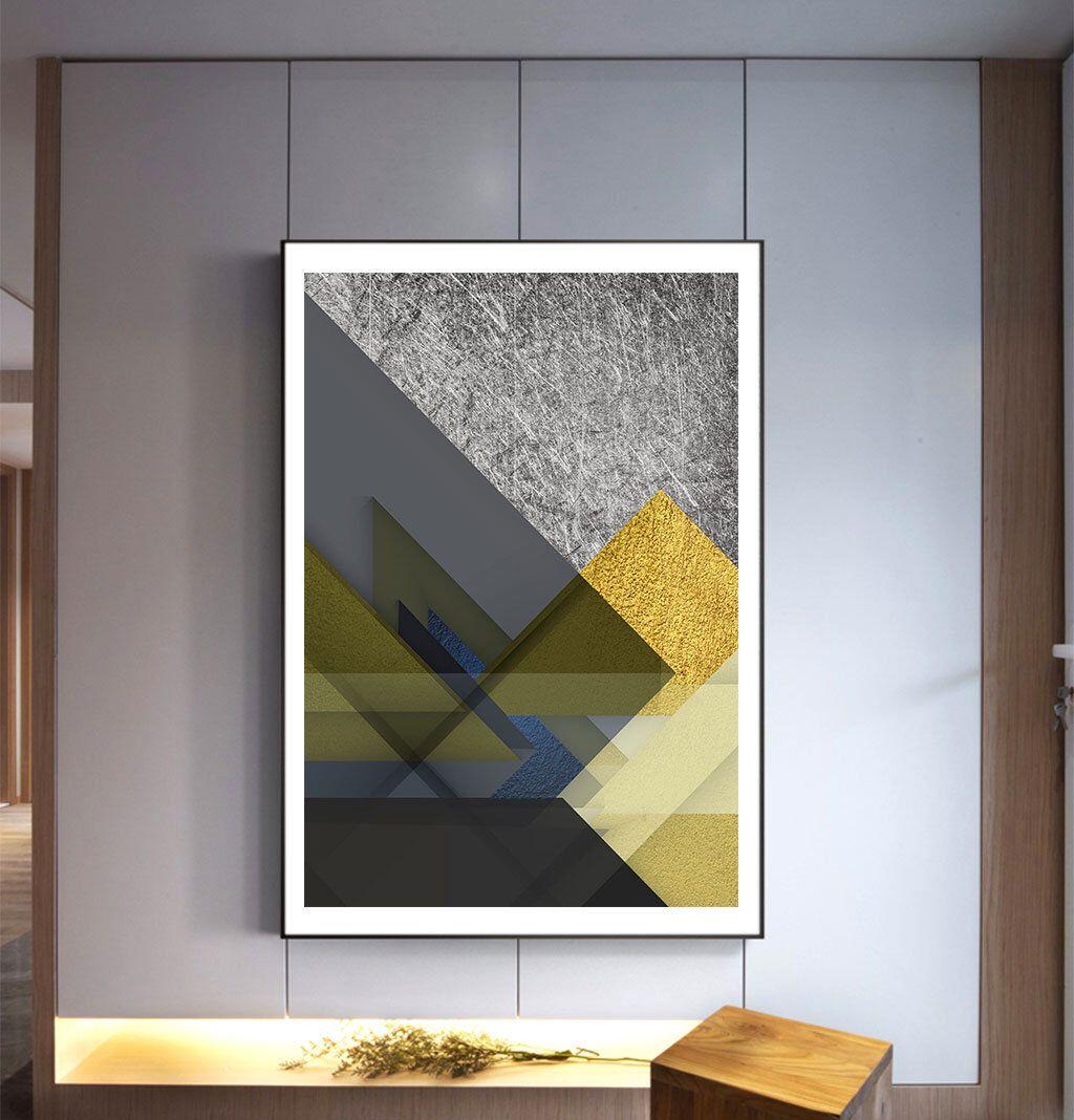 Triangle Print Geometric Art Printable Wall Art Triangles Etsy Geometric Art Geometric Art Printable Digital Wall Art