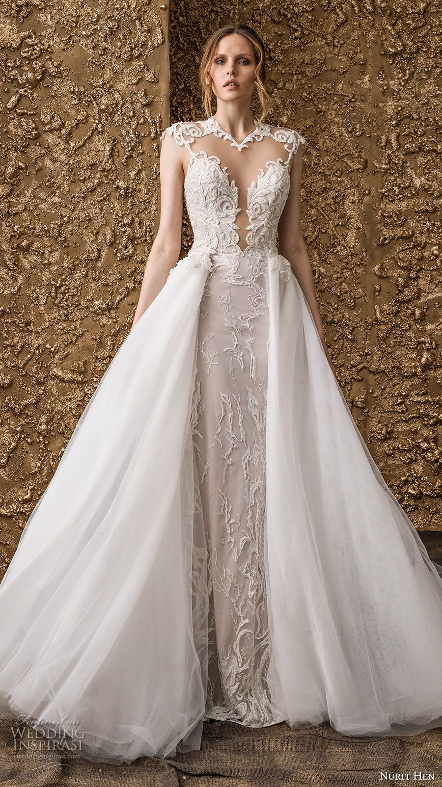 Wedding dresses springfield mo  Nurit Hen  Wedding Dresses u ucGolden Touchud Bridal Collection