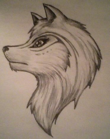 Tribal wolf drawings google search