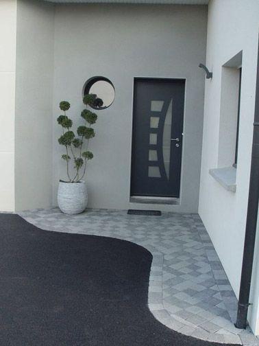6 idées déco extérieure pour votre porte du0027entrée Patios, Exterior - idee deco entree maison
