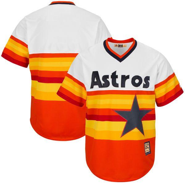 Houston Astros Majestic Big & Tall Cool Base Team Jersey - Orange - $99.99