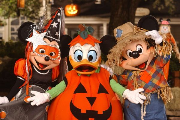 We have enjoyed the Halloween party many times at Disneyworld, if - not so scary halloween decorations