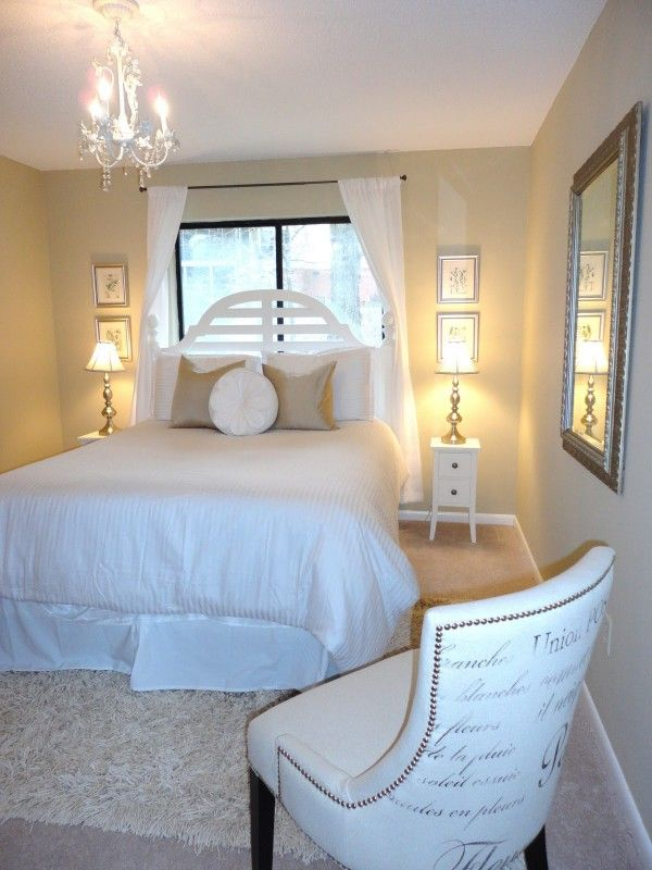 Modern Guest Bedroom Decorating Ideas With Beautiful Window