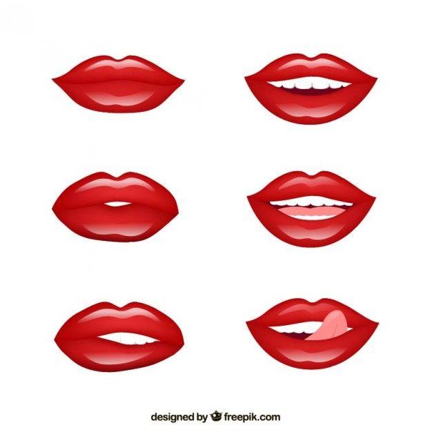 Pin de Glory Mg en g | Pinterest | Labios, Rojo y Pintar ojos