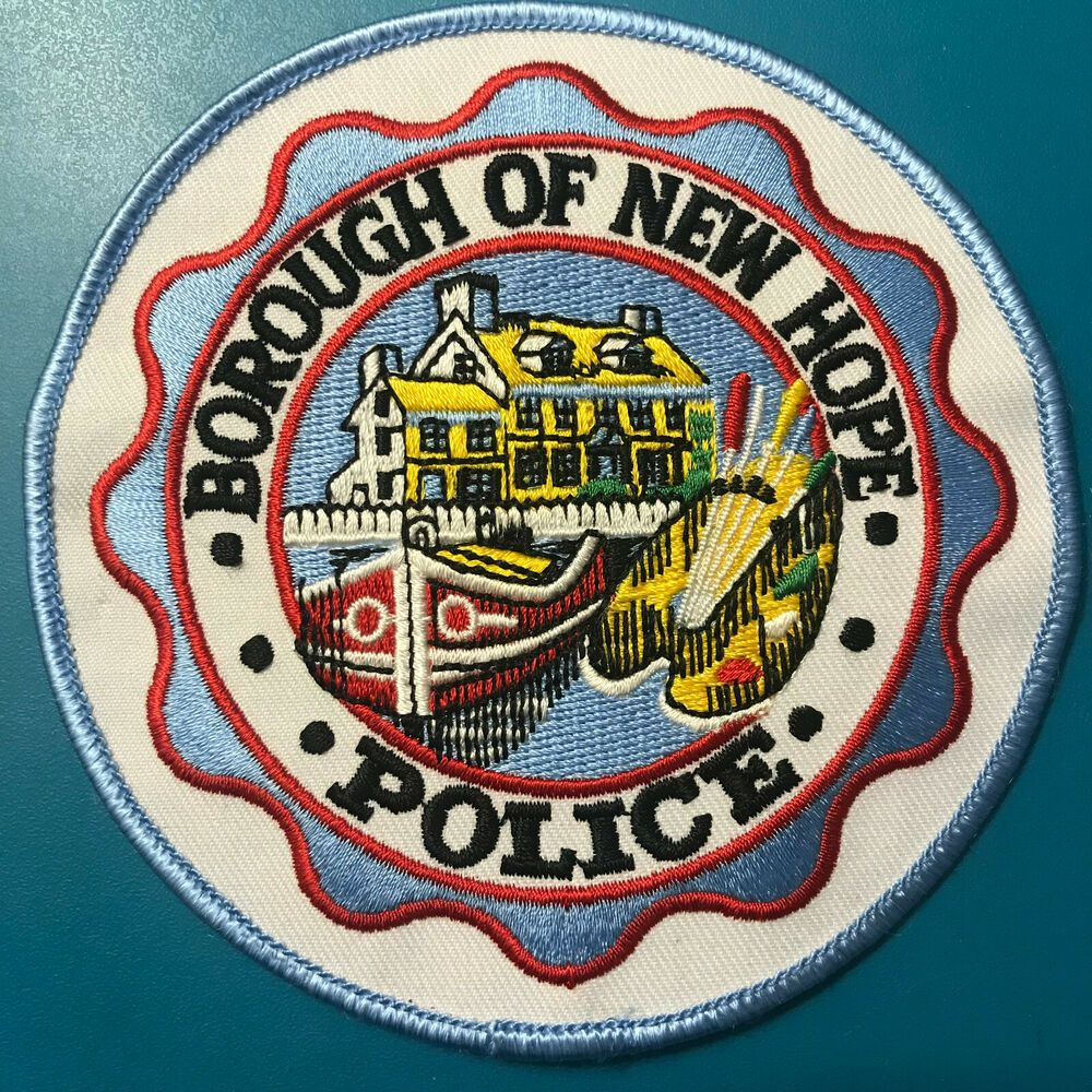 New Hope Police Pennsylvania Patch | Police & Sheriff Patches For
